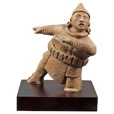 Ball player figurine - Mayan culture Mexico - Reproduction museum Nacional Antropologia Mexico