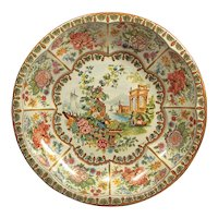 Daher Decorated Ware - Vintage England Tray - Daher Tin Serving Bowl - Metal Garden Bowl