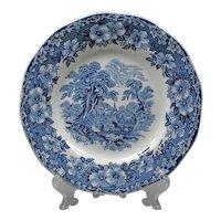 2 Dessert Plates - Wedgwood England Plates - Blue and White Porcelain