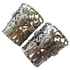 Vintage Peruzzi Boston Cuffs