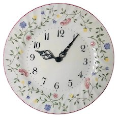 Clock Summer Chintz by JOHNSON BROTHERS Fine English Tableware