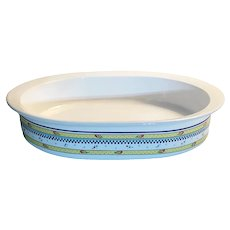 Classic Elegance, Millie Fleur, by Corning, Floral casserole, Oval Ovenware