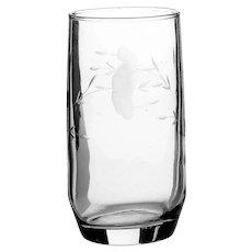 460 Princess Heritage Handcut Beverage Glasses 4 Princess House Juice Tumbler