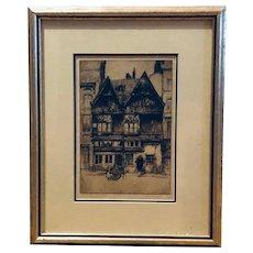 Old Houses, Antwerp (J. Paul Verrees)
