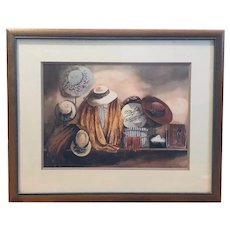 Mr. John - signed, untitled print (Carolyn Watson)
