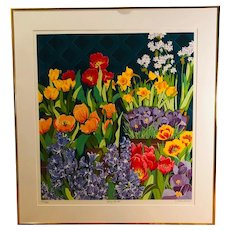 Spring Bulbs - limited edition serigraph (Tjeda Michas)