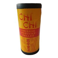 Vintage CHI CHI STICKS Chinese Fortune Teller Pacifico San Francisco 40s-60s