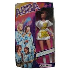 Original 1978 Matchbox ABBA AB102 Frida Anni-Frid Lyngstad Doll Boxed