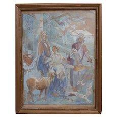 René Victor LIVACHE - The Holy Family