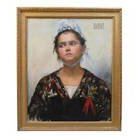 Marie ABEIDA - Portrait of Mlle B.