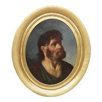 French School of the second half of the 18th century - Portrait of a bearded man