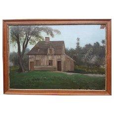 Michel WILLENICH - A house in Normandy in 1875