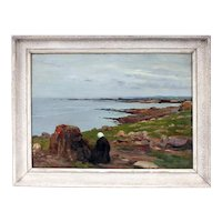 Paul PASCAL - The Kersaint beach in Finistère (Brittany)