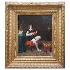 Horace DUCHENNE DE VERE - The Mandoline player