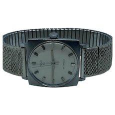 Vintage 1970s Elgin Stainless Steel 17 Jewel Watch