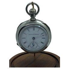 1888 Columbus Watch Co.  Pocket Watch 18S