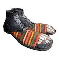 Mid 20th Century English Clown Shoes