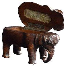19th Century Elephant Vesta