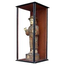 Victorian shop display cabinet