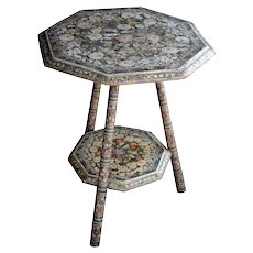 19th Century Kashmir Table