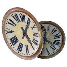 Toleware Clock Faces