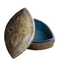 Kashmir turban shaped box
