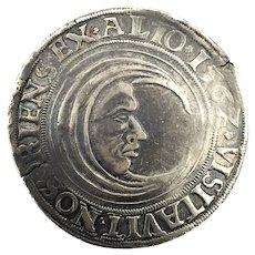 1562 Luneburg German States  Silver Thaler