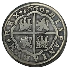 1660 Spain Silver 8 Reales