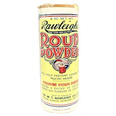 Rawleigh's Roup Powder For Chicken
