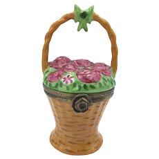 Basket of Roses Limoges Box