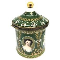 Portraits of Lades Limoges Box