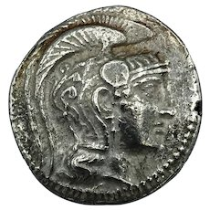 165-142BC Athens Silver Tetradrachm
