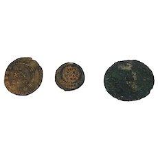 297-337AD Roman Empire Bronze Coins