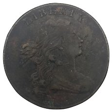 1798 Draped Bust Large Cent 2nd Hair Style