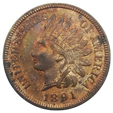1891 Indian Head Cent