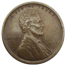 1909 S VDB Wheat Cent