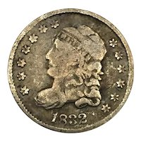 1832 DDR Capped Bust Half Dime