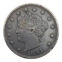 1894 Liberty Nickel