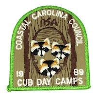Boy Scouts of America - Coastal Carolina Council Cub Day Camps - Patch
