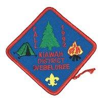 Boy Scouts of America - Kiawah District - Patch