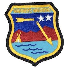 U.S. Air Force Broken Arrow - Warner's Warriors - Patch