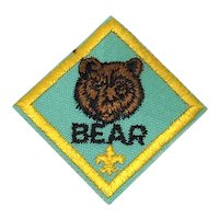Cub Scouts of America - Bear Level - Patch