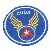 Cuban Air Force Felt Patch