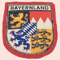 Bayernland Tourist Patch