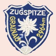 Zugspitze Tourist Patch