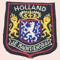 Holland Tourist Patch