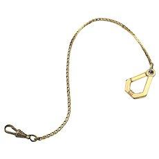 Kreisler Gold-Filled Pocket Watch Fob