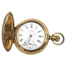 Columbia Hunting Case Pocket Watch