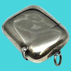 Match Box - Match Safe - Vesta Case - Sterling Silver