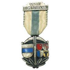 West Germany Archery Medal